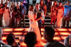 Wedding Reception at the Ocean Gazebo Hyatt Ziva Rose Hall Montego Bay Jamaica