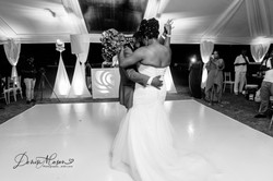 Couples First Dance at Silver Sands Duncans Trelawny Jamaica
