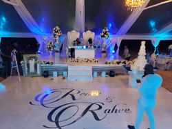 Luxury wedding at private residence