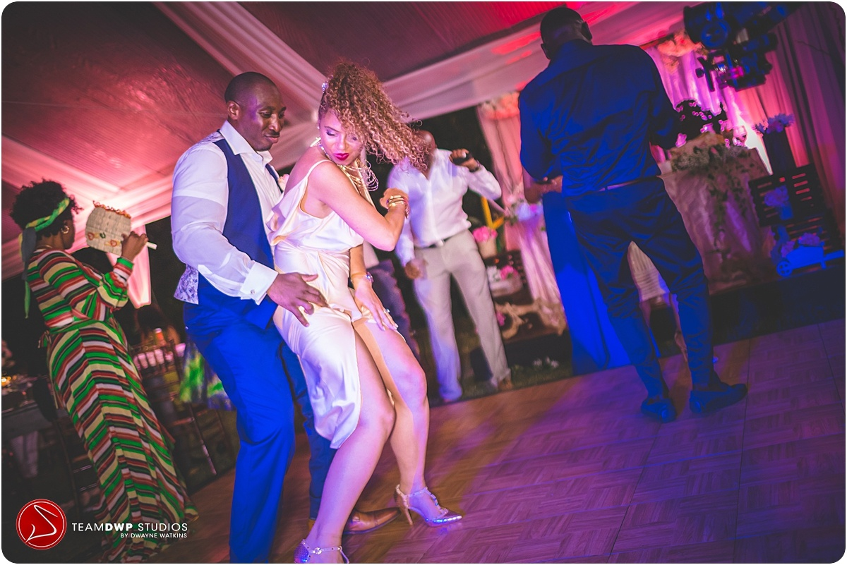 Wedding Dancing at Bellefield Great House Montego Bay Jamaica