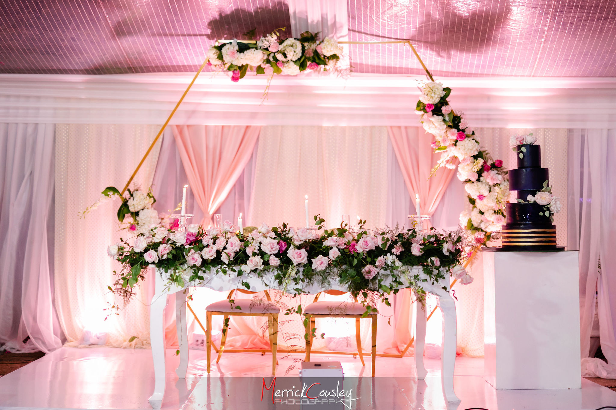Decor by Luxe Event Design at Endless Summer Villa Montego Bay Jamaica