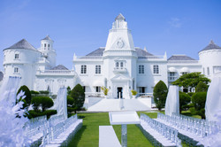 All White Jamaican Wedding Trident Castle Portland Jamaica