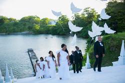 Wedding Ceremony at Trident Castle