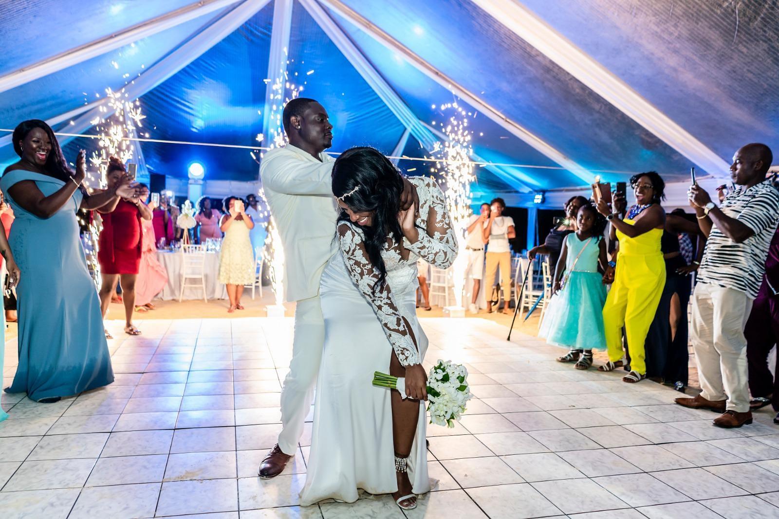 Wedding Reception at Beaches Negril Resort, 7 Mile Strip Negril Jamaica