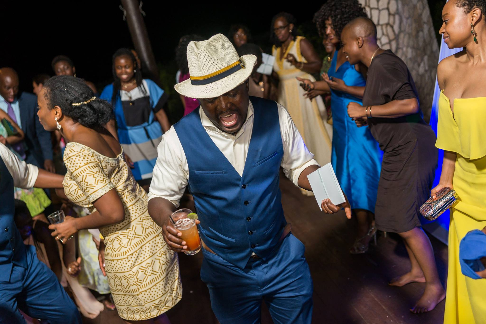 Wedding Reception at Rock House Hotel Negril Jamaica