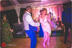 Bride & Groom dancing at Bellefield Great House Montego Bay Jamaica