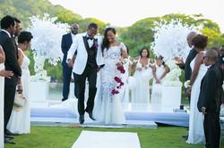 Wedding Ceremony at Trident Castle Dwayne Watkins Photography Team DWP