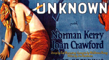 "From Silent Films: An Unknown Star Named Joan Crawford in ""The Unknown"""