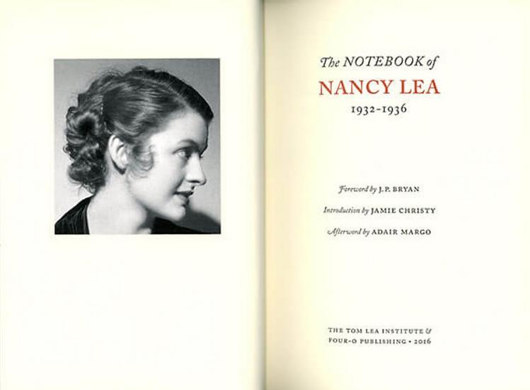 The Notebook of Nancy Lea