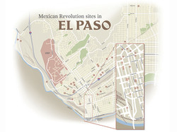 Map for El Paso Times