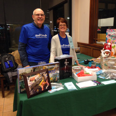Fund raiser at Barnes and Noble