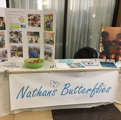 Nathans Butterflies information booth