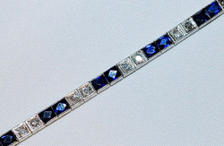 #427 - Sapphire & Diamond Bracelet WEB1.