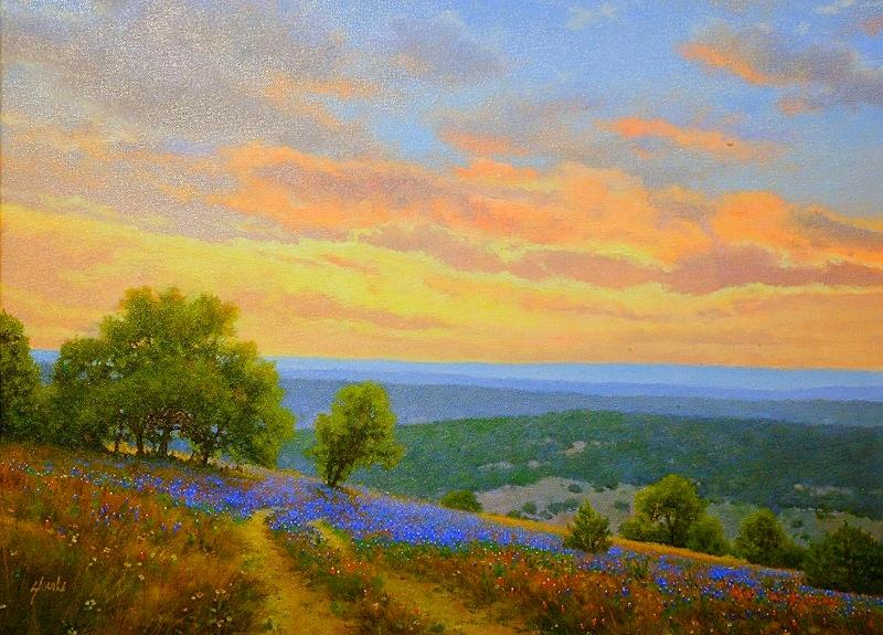 Spring Sunset West of Boerne WEB