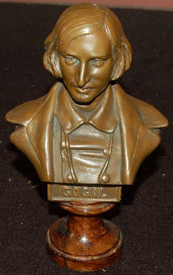 Gogol Bronze c. Early 20th Cen