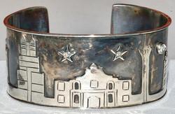 Sterling Alamo Cuff Bracelet WEB1