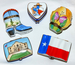 Various Texas Limoges Group