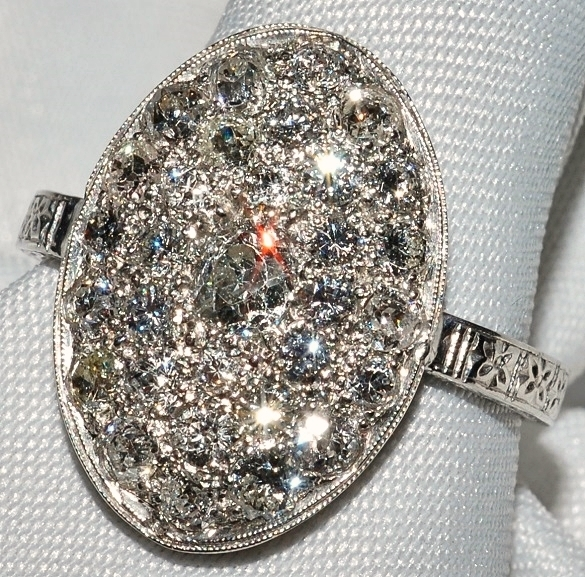 #109 - Art Deco Diamond Ring WEB