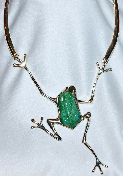 SOLD Sterling & Malachite Necklace