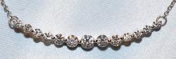 #810  18k Diamond - 1.00ct Necklace