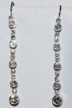 #867 - Diamond Drop Earrings WEB