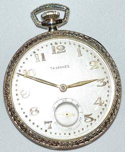 #249 18k Tavannes Pocket Watch