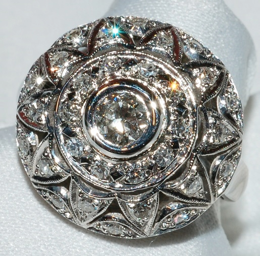 #230 - Art Deco Diamond Fashion Ring WEB