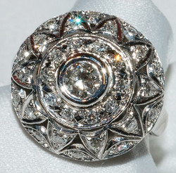 #230 - Art Deco Diamond Fashion Ring WEB