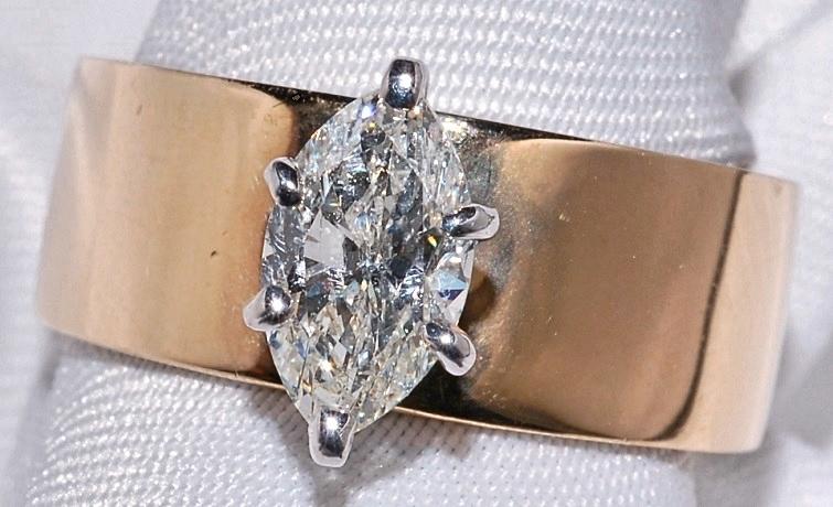 #128 - Diamond Soliataire Engagement Rin