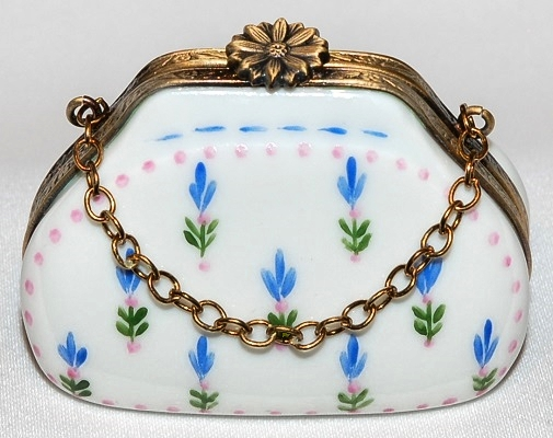 Floral Purse Limoges Box