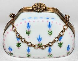 Floral Purse Limoges Box
