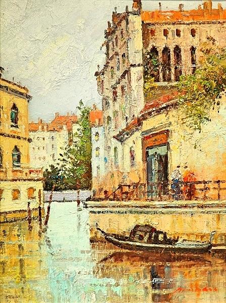 """""""Waterways"""" Oil by Morgan"""