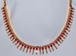 #333 Ruby & Diamond Necklace