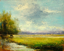 Late Afternoon Oil by Dave Ivey
