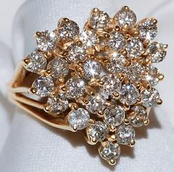 #806 2.50ct Diamond Cocktail Ring