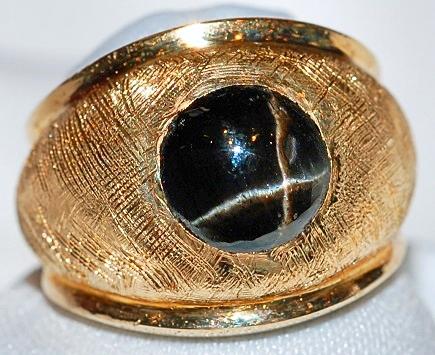 #1005 14k Diopside Ring