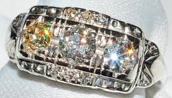 #570 - Art Deco Diamond Ring WEB