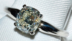 #219 - Diamond Solitaire Engagement Ring WEB