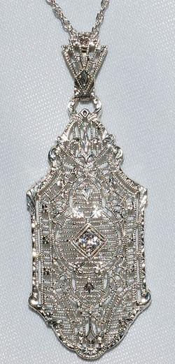 #350 - Art Deco Diamond Necklace WEB