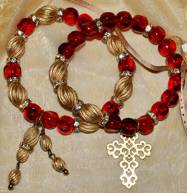 Red Glass Bracelets WEB
