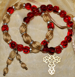 Red Glass Bracelets WEB