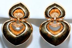#320 BULGARI 18k Diamond Earrings