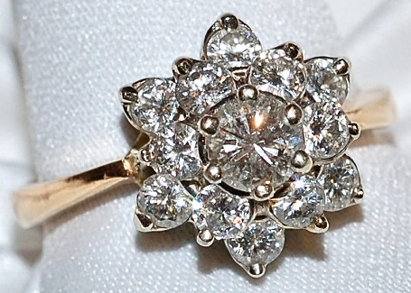 #807 14k Diamond .50ct Ring
