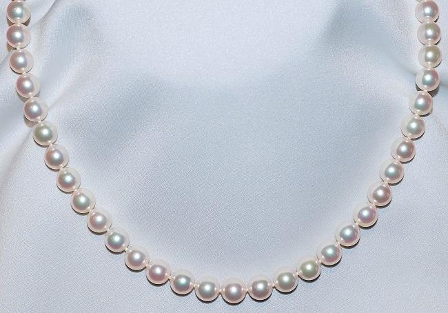#306 Mikimoto 14k Necklace