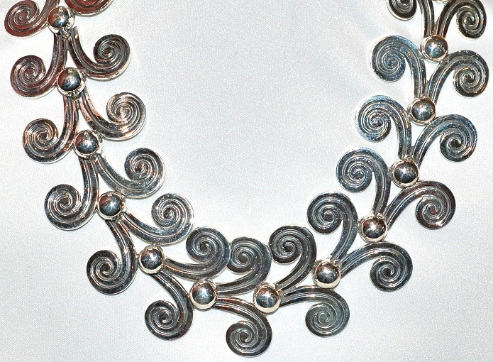 Hand Crafted Sterlin Silver Necklace