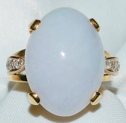 #129 - Lavender Jade Diamond Ring WEB