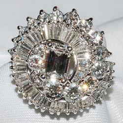 #124 - Platinum Diamond Ring WEB