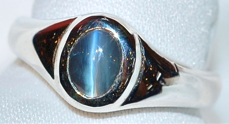 #935 Cat's Eye Chrysoberyl Ring
