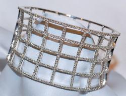 #081 14k Diamond 3.00ct Bracelet