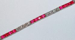 #434 - Ruby & Diamond Bracelet WEB1